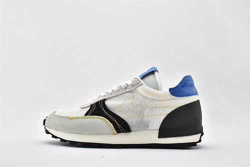 Nike DBREAK-TYPE 华夫款网面跑鞋/白绿黑蓝  货号:CJ1156-101   男女鞋  情侣款
