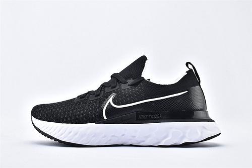 Nike REACT INFINITY FK 瑞亚3.0跑鞋/黑白  货号:CD4371-002  男女鞋  情侣款