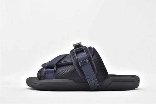 Clot X VisVim 合作款潮流人气单品Christo 2020潮流拖鞋 潮拖 三色【深蓝 黑色 军绿】  男鞋