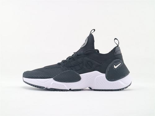 Nike HUARACHE E.D.G.E TXT QS 华莱士系列跑鞋/黑白 机能网面跑鞋  货号:AO1697 004  男鞋