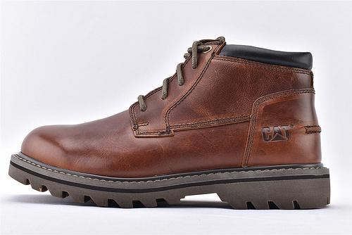 卡特/CAT  2019美版中帮户外工装靴/时尚牛仔 正品原版头层打蜡牛皮  男鞋