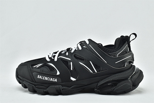 Balenciaga/巴黎世家 3.0 ins复古老爹鞋/非做旧 海外版 黑白  原装版 男女鞋 情侣款
