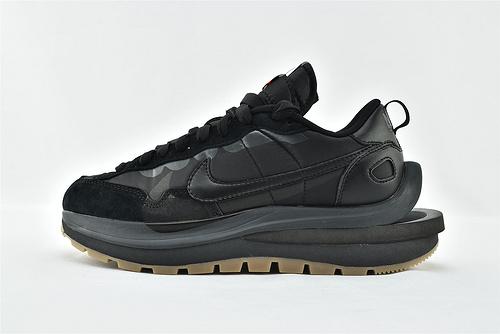 Sacai x Nike LVD Waffle Daybreak 联名走秀款解构高端跑鞋/华夫3.0 黑武士 黑生胶  货号:DD1875-001  男女鞋  情侣款