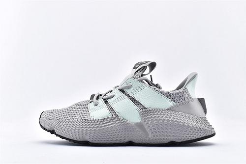 Adidas 三叶草 Prophere 复古跑鞋/刺猬 铁灰薄荷绿 原盒原标  货号:BD7829  男女鞋  情侣款