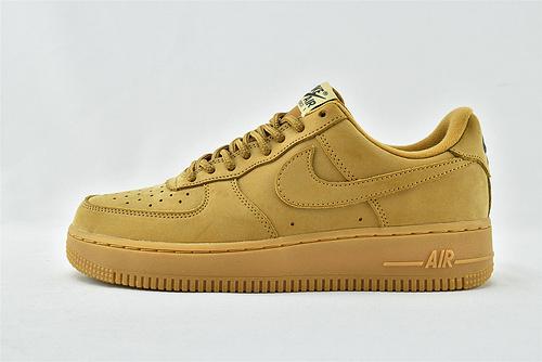 Nike Air Force 1 Low AF1空军一号/低帮 小麦  货号:AA4061-200  男女鞋   情侣款