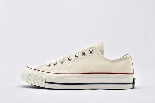 CONVERSE/匡威 1970S 三星黑标低帮滑板鞋/米白  过验版  货号:162062C 男女鞋  情侣款