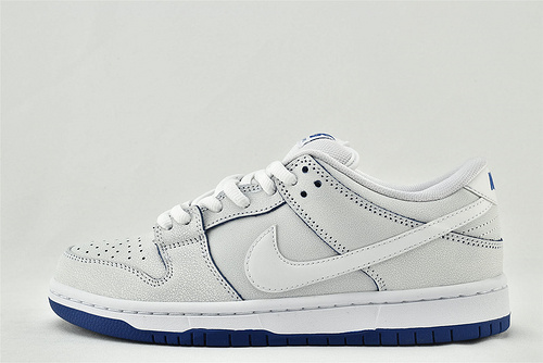 Nike SB Dunk Low 低帮滑板鞋/白蓝 冰蓝青花瓷 爆裂纹  货号:CJ6884-100   男女鞋  情侣款
