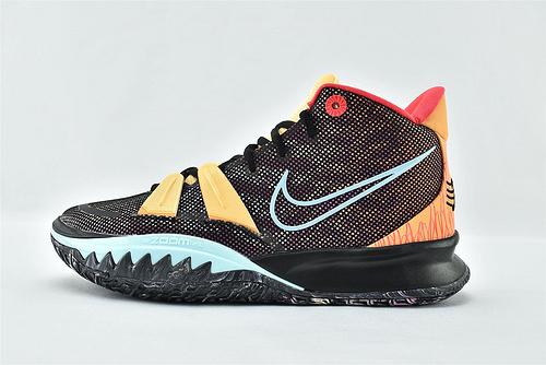 Nike Kyrie 7 Tokyo 欧文7代中帮篮球鞋/棕色音乐 主题首发   灭世版  货号:DC0589-002   男鞋