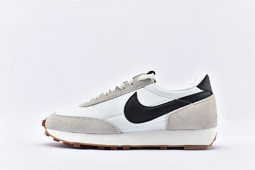 Nike Daybreak 华夫轻量跑鞋/浅灰白黑钩 原盒原标 市场版本 随意对比  纯原版 货号:CK2351-100  女鞋