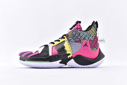 Jordan Why Not Zer0.2 PF 威少2代篮球鞋系列/黑粉雷霆 实战无忧 内置缓震气垫   货号:BV6352-007  男鞋