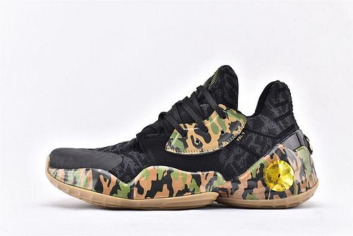 Adidas Harden Vol4.0 哈登4.0篮球鞋/黑迷彩  纯原版  货号:EG2592  男鞋