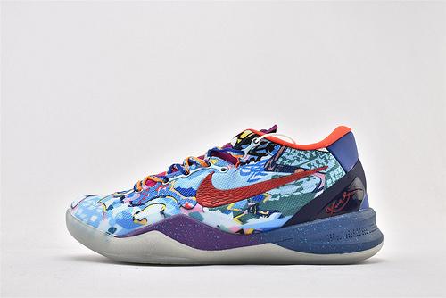 Nike Zoom Kobe 8 System What The Kobe科比8代篮球鞋/鸳鸯 夜光版  货号:635438-800  男鞋