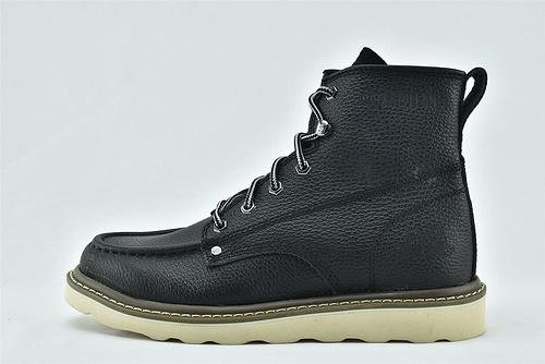 卡特/CAT 2020新版 秋款上市 美版高帮马丁靴/棕色  黑色  全头层  男鞋