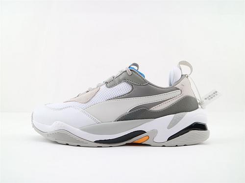 彪马/Puma Thunder Spectra复古老爹鞋/灰白蓝  货号:367516 08  男女鞋  情侣款