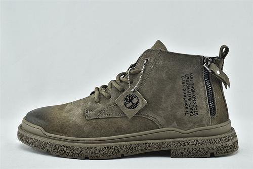 Timberland/天伯伦 添柏岚 2020新款 中帮皮靴/黑色 灰色 拉链款  男鞋