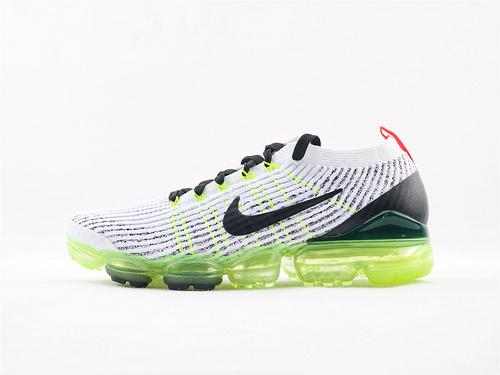 Nike Air Vapormax Flyknt 3.0系列/2018款大气垫/编织款 灰黑 货号:AJ6900 100 男鞋