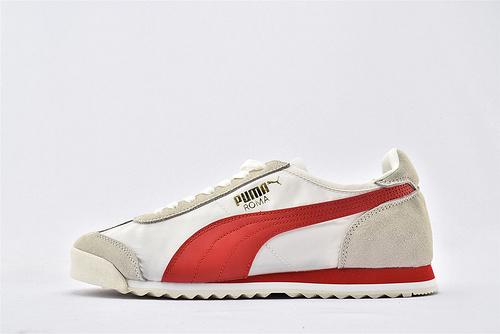彪马/PUMA OG Nylon 复古板鞋/灰白红 尼龙透气面 原标原盒  货号:362408-08  男女鞋  情侣款