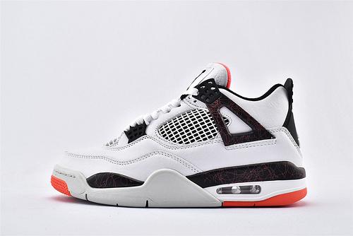 Air Jordan AJ4 乔丹4代篮球鞋/大理石 热熔岩 纯头层  纯原版  货号:308497-116  男鞋