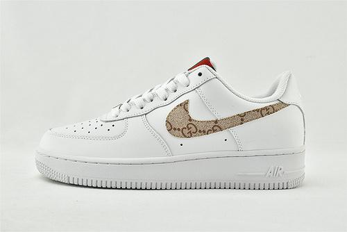 Nike Air Force 1 Low AF1空军一号/低帮   全白古驰  货号:AR7720-101  男女鞋  情侣款