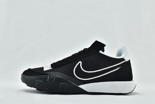 Nike WAFFLE RACER 20 秋季运动跑鞋/华夫2.0 黑白  货号:CK6647-700   男鞋