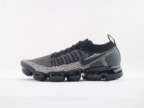 Nike AIR Vapormax Flyknit大气垫 2.0系列/黑彩 原装版 货  货号:942842 015  男女鞋  情侣款