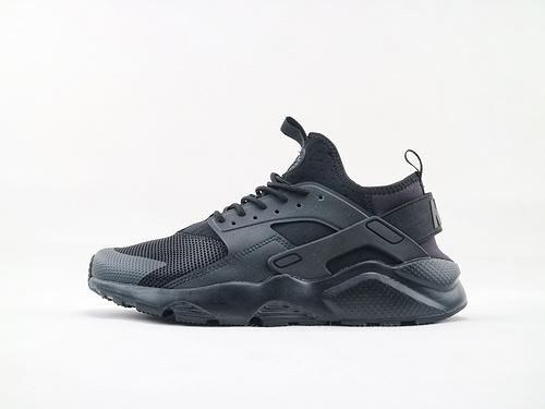 Nike Air Huarache Run Ultra 华莱士4.0系列跑鞋/黑武士 经典款  货号:819685 002  男女鞋  情侣款