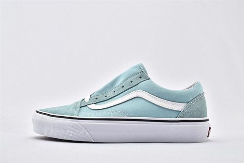 Vans/万斯 Classic Old Skool 经典低帮滑板鞋/薄荷绿  过验版  男女鞋  情侣款