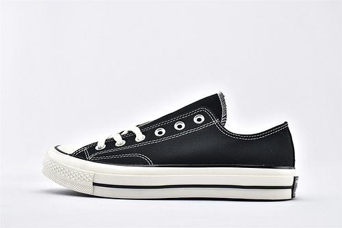 CONVERSE/匡威 1970S 三星黑标低帮滑板鞋/黑白  过验版  男女鞋  情侣款