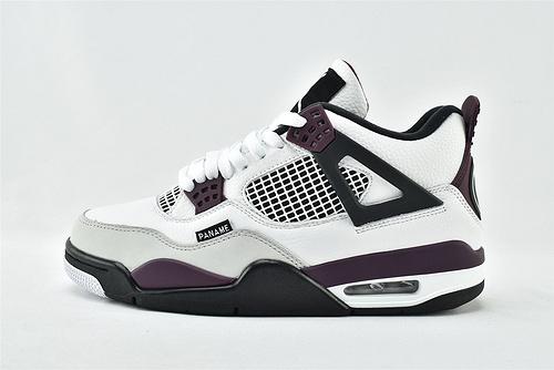 Air Jordan 4 PSG AJ4 乔丹4代篮球鞋/酒红 大巴黎 圣日耳曼联名   货号:CZ5624-100  男女鞋   情侣款