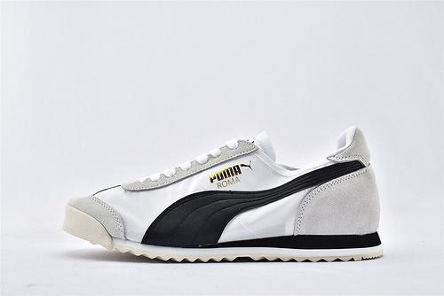 彪马/PUMA OG Nylon 复古板鞋/灰黑白 尼龙透气面 原标原盒  货号:362408-06