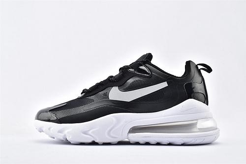 "Nike Air Max 270 React ""BAUHAUS"" 半小掌气垫气垫跑鞋/黑白拼色 泡棉  纯原 芯片版 货号:CT3426-001  男女鞋  情侣款"