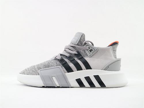 Adidas EQT Bask ADV 复古篮球鞋/浅灰黑  货号:B37516  男鞋