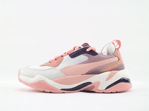 彪马/Puma Thunder Spectra复古老爹鞋/粉  货号:367516 09   女鞋