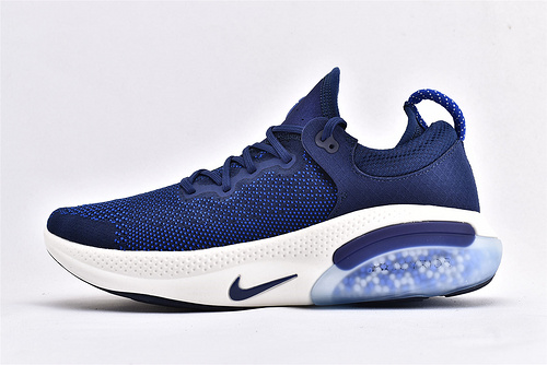 Nike Joyride Run FK飞线震颗粒跑步鞋/2019最新发售 深蓝白 正品科技缓震颗粒  【毒版get】货号:AQ2730-400  男鞋