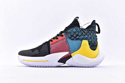 Jordan Why Not Zer0.2 PF 威少2代篮球鞋系列/黑人月 家庭黑白 实战无忧 内置缓震气垫  货号:CI6294-001  男鞋