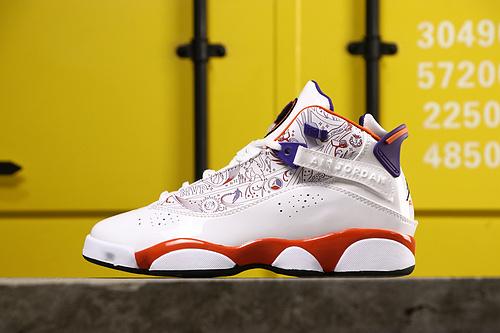 乔丹/Air Jordan AJ6 乔丹6代 Air Jordan 6Rings六冠王男款球鞋货号:322992-101 乔6六冠凤凰城 36-45