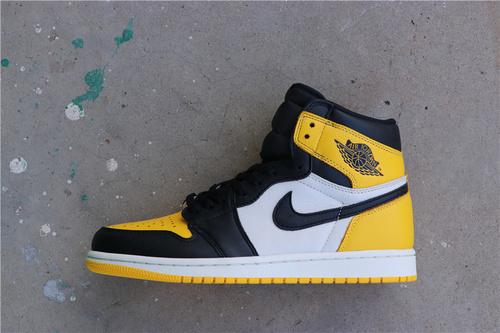 """乔丹/Air Jordan【GET毒版】aj1 AJ1乔丹1代 Air Jordan 1 Retro High OG """"Yellow Toe""""货号:AR1020-700 乔1新黑黄脚趾 40-46"""