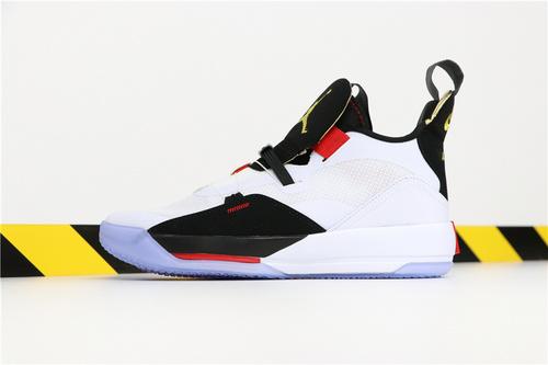 乔丹/Air Jordan【超级A】AJ33 乔32 乔丹33代系列 Air Jordan 33 货号:BV5072-010 乔33黑白红 40-46