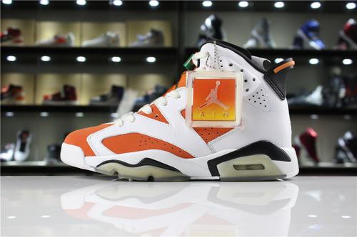 """乔丹/Air Jordan【真标最高版】aj6 AJ6 乔丹6代 乔6 乔丹6 Air Jordan 6 """"Gatorade"""" 货号:384664-145 乔6佳得乐 40.5-47.5"""
