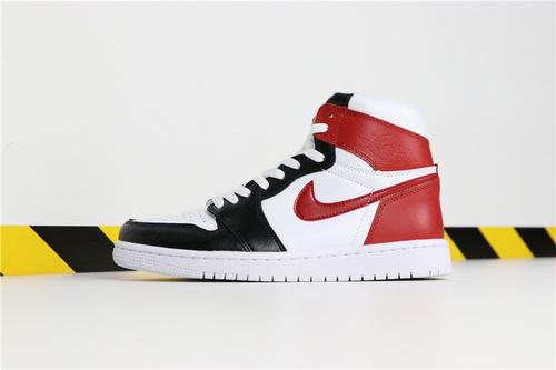 乔丹/Air Jordan 【超A】AJ1 aj1 乔丹1代 乔1 乔丹1代高帮系列Air Jordan 1 货号:555080-160 乔1白黑红脚趾 36-45