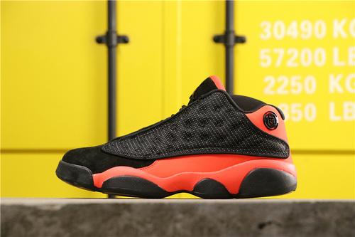 """【真标】乔丹/Air Jordan aj13 AJ13 乔丹13 CLOT x Air Jordan 13""""INFRA-BRED""""货号:AT3102-006 乔13低帮陈冠希黑红36-45"""
