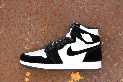 乔丹/Air Jordan【GET毒版】AJ1 aj1 乔1 乔丹1代 Air Jordan 1Retro High OG WMNS毛皮一体 货号:CD0461-007 乔1元年熊猫 40-45