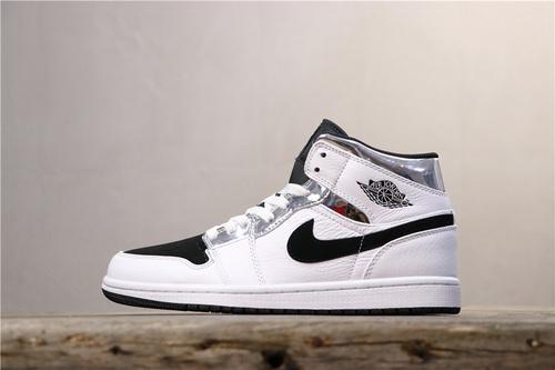 乔丹/Air Jordan【BA版】AJ1 aj1 乔丹1代 乔1 乔丹1代中帮系列 Air Jordan 1 MID 货号:554724-121 乔1中帮小伦纳德 36-46
