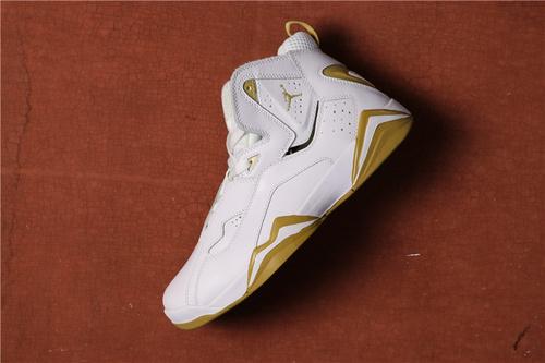 乔丹/Air Jordan AJ7.5 乔丹7.5 代 乔7.5 乔丹7.5 乔丹7.5代 加强版 高帮 篮球鞋  乔7.5代加强版白金 40-46