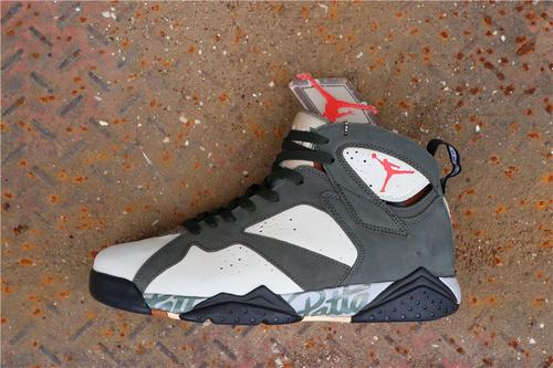 乔丹/Air Jordan【真标公司级】aj7 AJ7 乔丹7代 乔7 乔丹7 Patta x Air Jordan 7 OG SP 货号:AT3375-200 乔7深棕鹿皮拼接 40-47.5