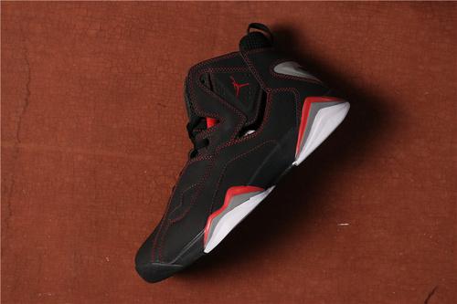乔丹/Air Jordan AJ7.5 乔丹7.5 代 乔7.5 乔丹7.5 乔丹7.5代 加强版 高帮 篮球鞋  乔7.5代加强版黑红 40-46