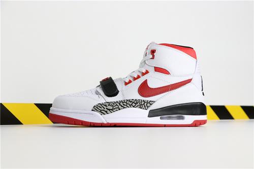乔丹/Air Jordan【真标超级A】Don C x Jordan Legacy 312 货号:AV3922-608 乔丹联名三合一白红 40-46