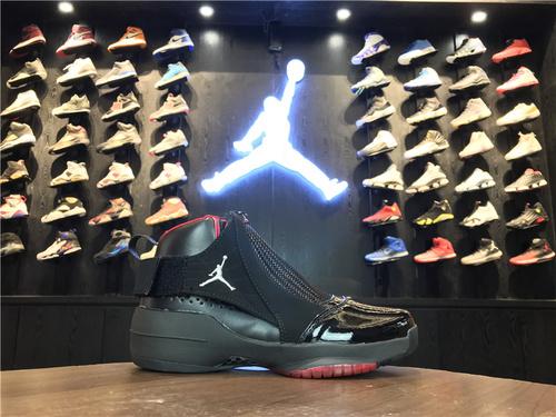 乔丹/Air Jordan【超级A】aj19 AJ19 乔丹19代 乔19 乔丹19 Air Jordan XIX (19)  货号:307547-102 乔19黑红 40-44