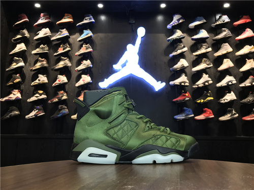 "乔丹/Air Jordanaj6 乔6 Air Jordan 6 Pinnacle ""Saturday Night Live"" 货号:AH4614-303 乔6飞行夹克 40-47"