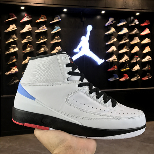 """乔丹/Air Jordan 【真标公司货】aj2 AJ2 乔丹2代 乔丹2 乔2 乔丹2代高帮系列 Air Jordan 2 """"Alumni"""" 货号:917360-105 乔2匡威联名白兰 41-46"""
